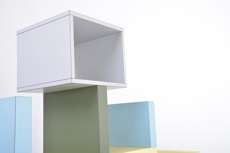 Laminated Carlton Room Divider Designed by Ettore Sottsass in 1981 for Memphis Milano