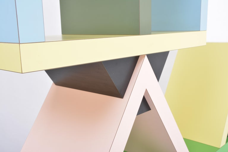 Carlton Room Divider Designed by Ettore Sottsass in 1981 for Memphis Milano In Good Condition In Berlin, DE