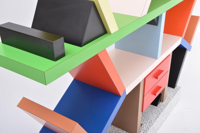 20th Century Carlton Room Divider Designed by Ettore Sottsass in 1981 for Memphis Milano