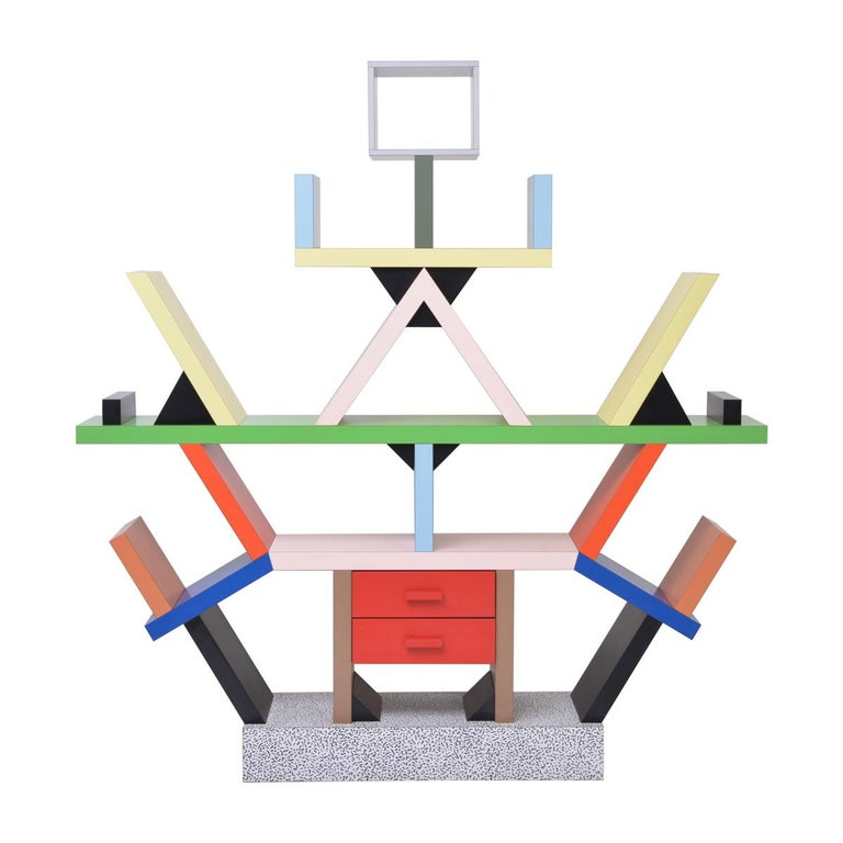 Carlton Room Divider Designed by Ettore Sottsass in 1981 for Memphis Milano