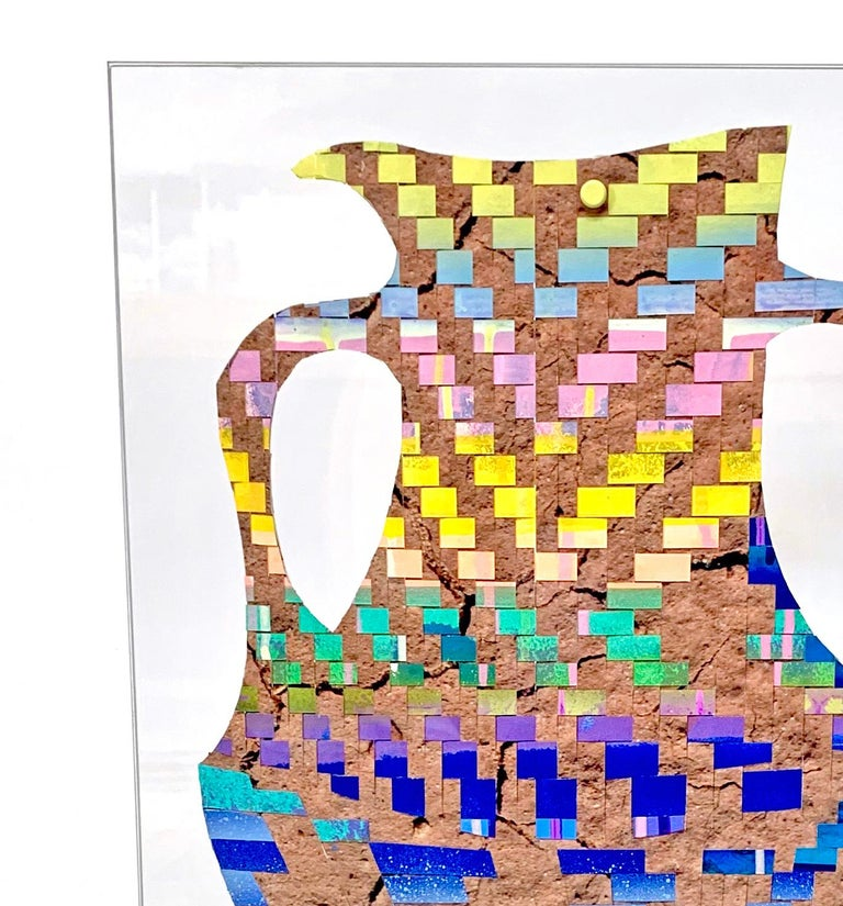 Turned Pitcher 2 - Abstract Sculpture by Carly Glovinski