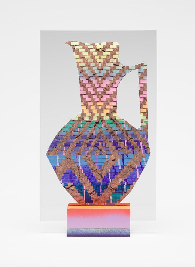 Carly Glovinski Figurative Sculpture - Turned Pitcher
