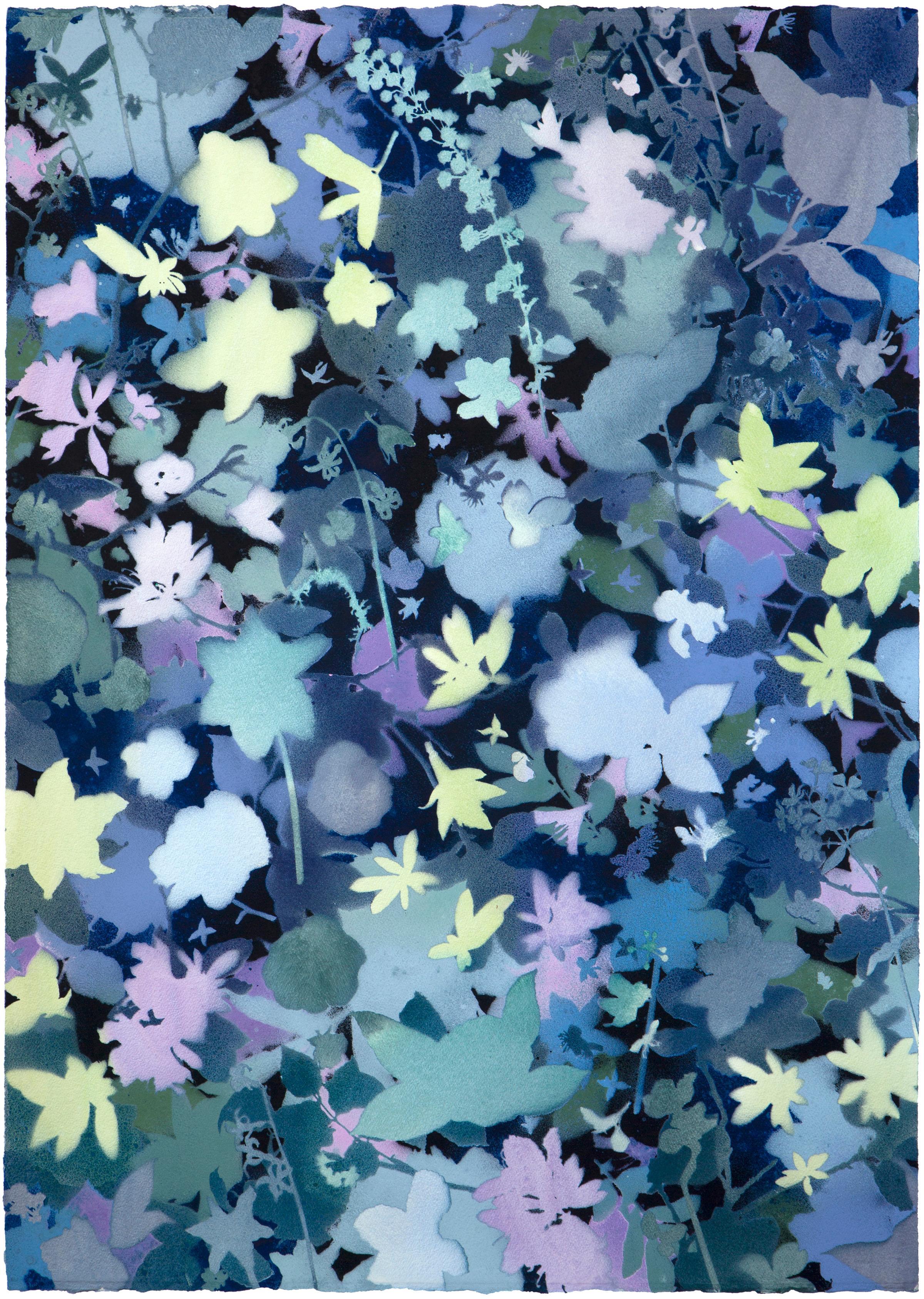 'Dawn Chorus I' - naturalist landscape - abstract - colorful - Claude Monet