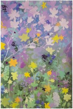 'Spring Garden I - Japanese Magnolia' - naturalist landscape - Claude Monet
