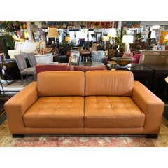 Carmel Leather Sofa by W. Schillig