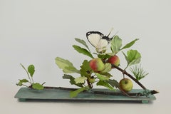 Crabapple Branch with Butterfly