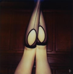 138  Cake, Cats & Curiosity - 21 Century, Women, Contemporary, Polaroid, Nude