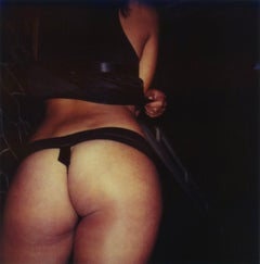 18  Cake, Cats & Curiosity - 21 Century, Women, Contemporary, Polaroid, Nude