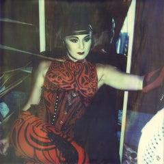 Amaluna's Day Off Number 18 (Cirque de Soleil)- Polaroid, Lightbox, Contemporary