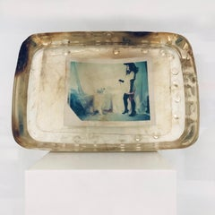 Bartolo - Unique piece in Resin - Original Polaroid, Women, Contemporary