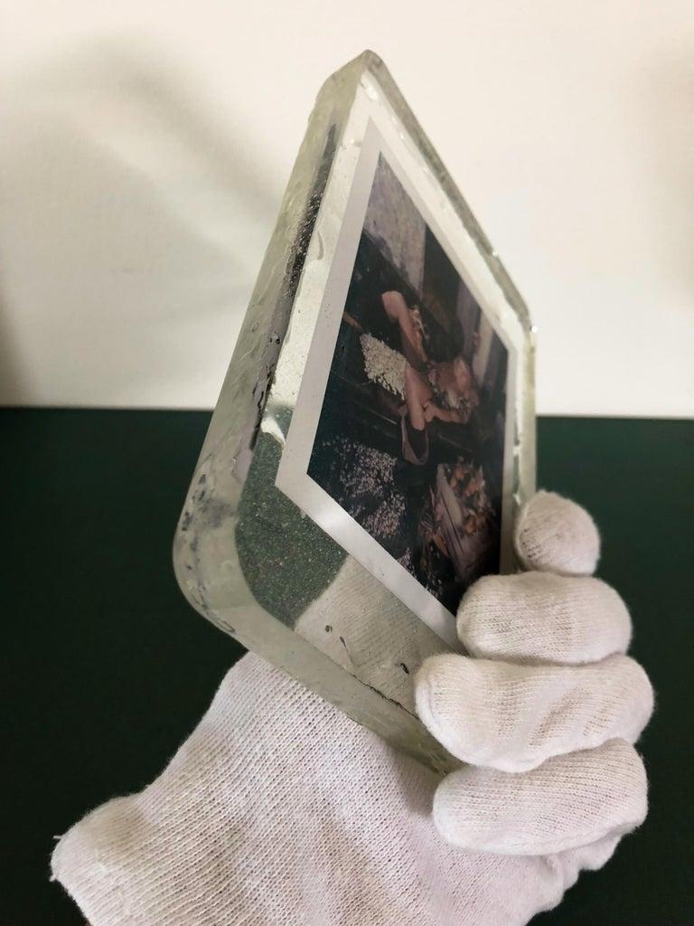 Corn Fest - Unique piece - Original Polaroid, Women, Contemporary, Nude For Sale 1