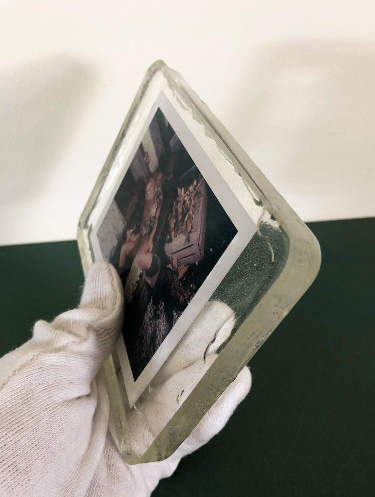 Corn Fest - Unique piece - Original Polaroid, Women, Contemporary, Nude For Sale 3