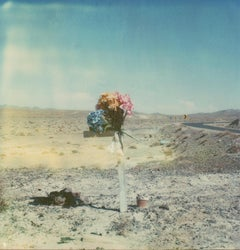 Death Valley Junction #109 (US Road trip Diary) - Polaroid, Landscape, US, Color