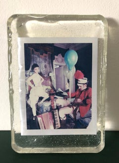 Eugène - Unique piece - Original Polaroid, Women, Contemporary, Color
