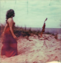 First Violin (self Portrait) - 21st Century, Polaroid, Photography, Contemporary