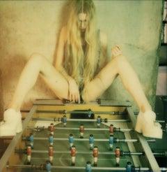 Kicker - 21 Century, Women, Contemporary, Polaroid, Figurative, Nude