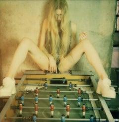 Kickers - Contemporary, Figurative, Female, Polaroid, photograph