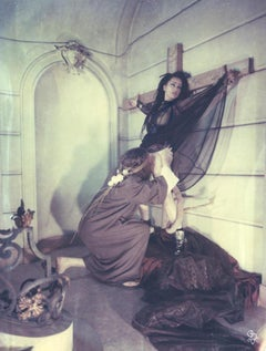 Maria Magdalena - Contemporary, Women, Polaroid, expired, 21st Century