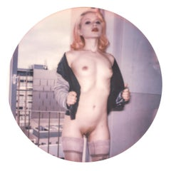 Miss Eris #19 - mounted - Contemporary, Polaroid, 21st Century, Nude, Women