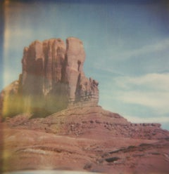 Monument Valley #73 (US Road trip Diary) - Polaroid, Landscape, US, Color
