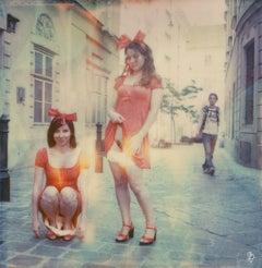 Muschi Guerilla #03 Contemporary, Figurative, Female, Polaroid, photograph