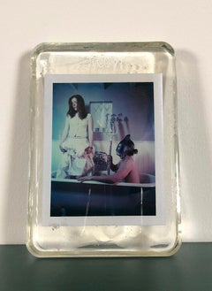 Neptunus - Unique piece in Resin - Original Polaroid, Women, Contemporary