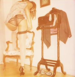 Oui, mon Cul #09 - Contemporary, Nude, 21st Century, Polaroid, Women, Color