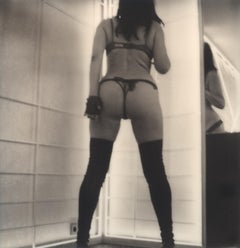 Preus #06 [Self-portrait from the series Need to be] - Polaroid, Nude