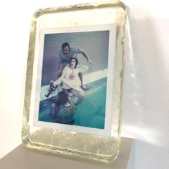 Snorkelman - Unique piece - Original Polaroid, Women, Contemporary, Figurative