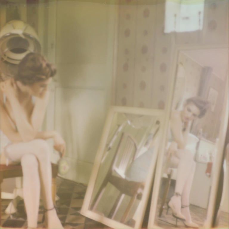 Tales of Bitter Doom #08 - Contemporary, Polaroid, Women, Figurative, Color - Photograph by Carmen de Vos