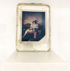 The Hunter - Unique piece in Resin - Original Polaroid, Women, Contemporary