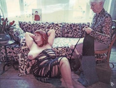 The Knitter (Odd Stories) - Polaroid, mounted, Contemporary, 21st Century