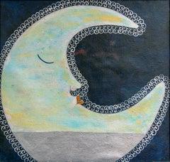 Luna al Atardecer