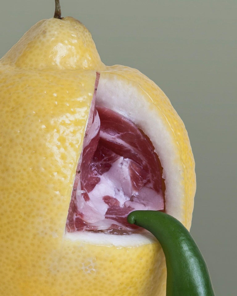 Italian Carmen Mitrotta Dead Food for New World Photo Nr. 10 For Sale