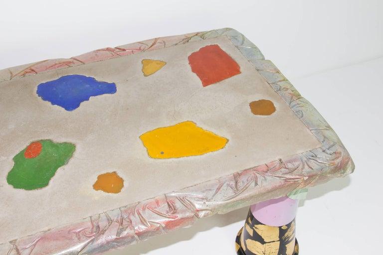 Post-Modern Carmen Spera Table for Art et Industrie For Sale