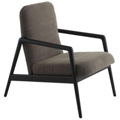 Carnaby Light Gray Armchair by Studio Balutto