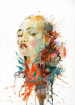 Carne Griffiths, Earth, Limited Edition Print, Contemporary Art, Affordable Art