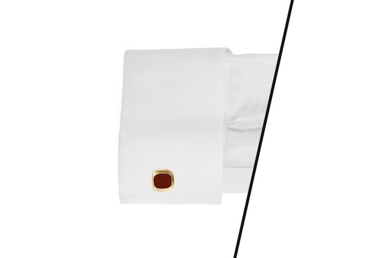 Men's Carnelian Cufflinks For Sale