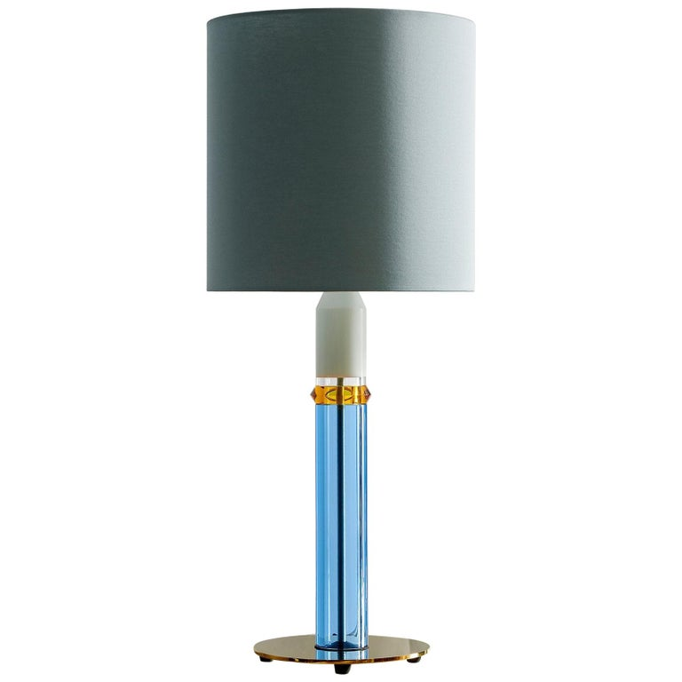 Carnival Table Lamp No. 1 For Sale