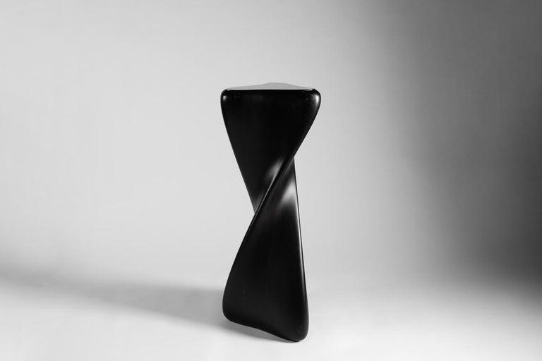 American Carol Egan, Hand Carved Pedestal, United States, 2014 For Sale