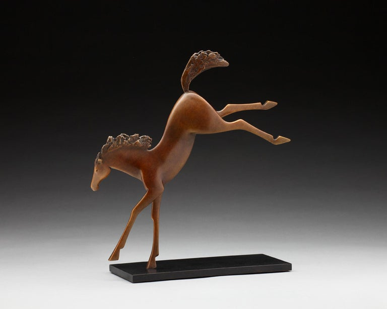 Horseplay - Sculpture by Carol Gold