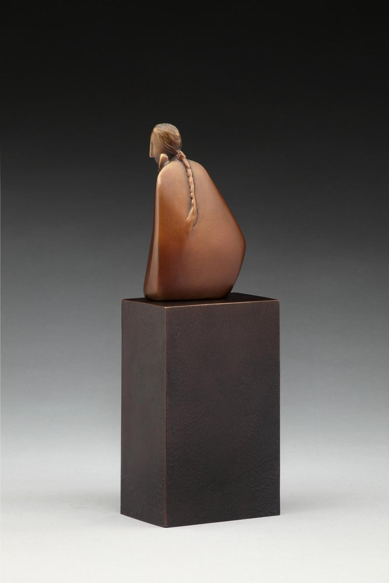 Listening - Sculpture by Carol Gold