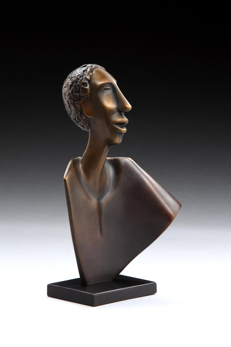 Singing - Sculpture by Carol Gold