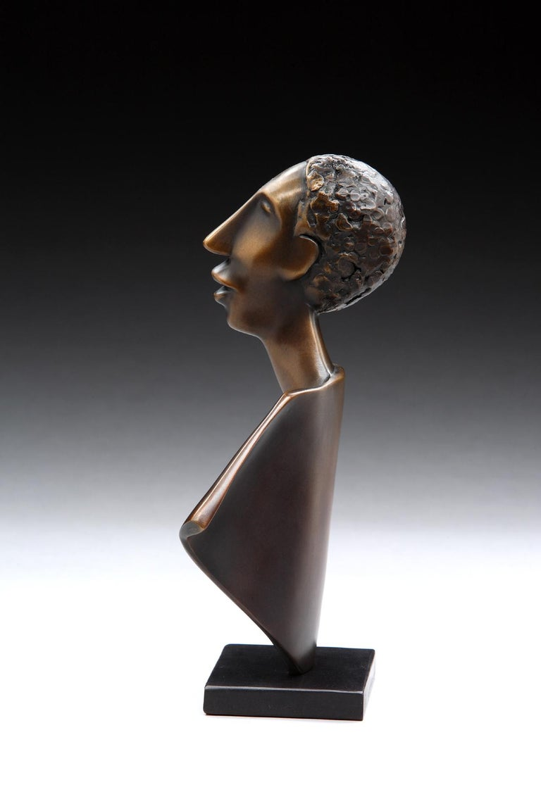 Singing - Contemporary Sculpture by Carol Gold