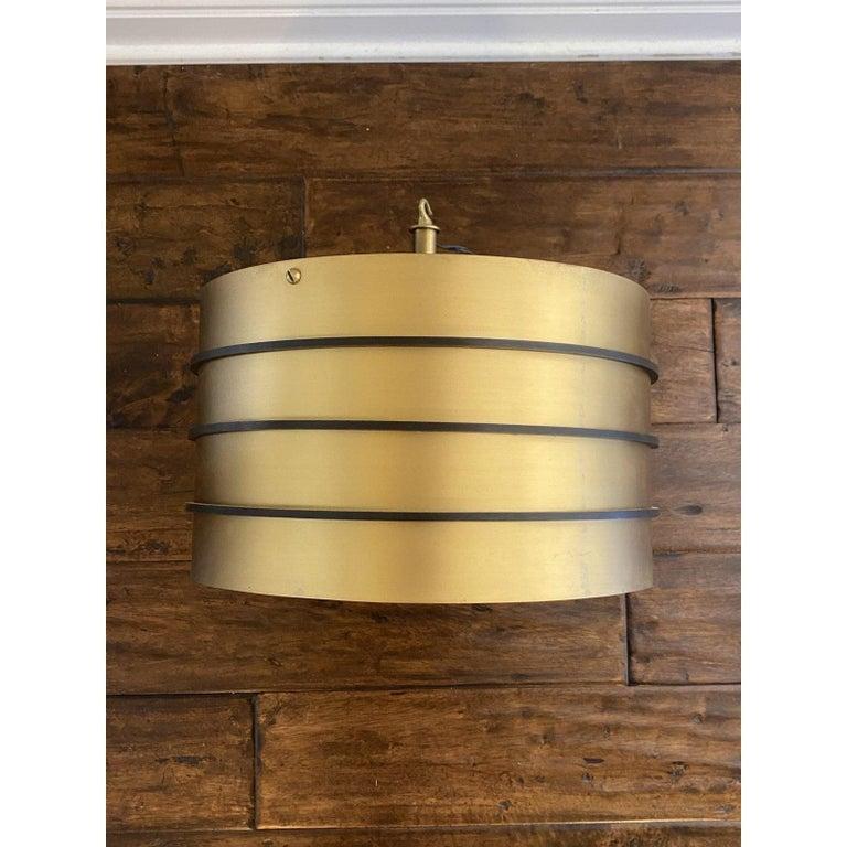 Carole Gratale modernist designer chandelier pendant ceiling light fixture.