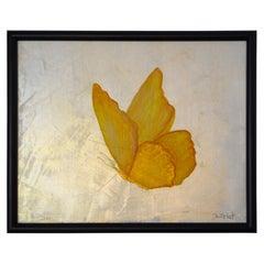 "Carol Post, ""Aglow"", Venetian Plaster and Acrylic on Canvas"