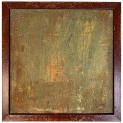 "Carol Post, ""Bronze"", Acrylic on Board, 2016"
