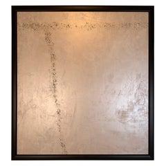 "Carol Post, ""Elegance"", Venetian Plaster and Acrylic on Canvas, 2018"