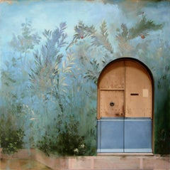 Entrata Severa, Architectural Gardenscape Inspired by Ancient Roman Frescos