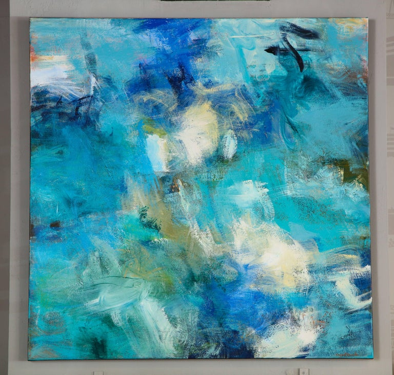 Contemporary painting, 'In the Shallows', by Carol Roche